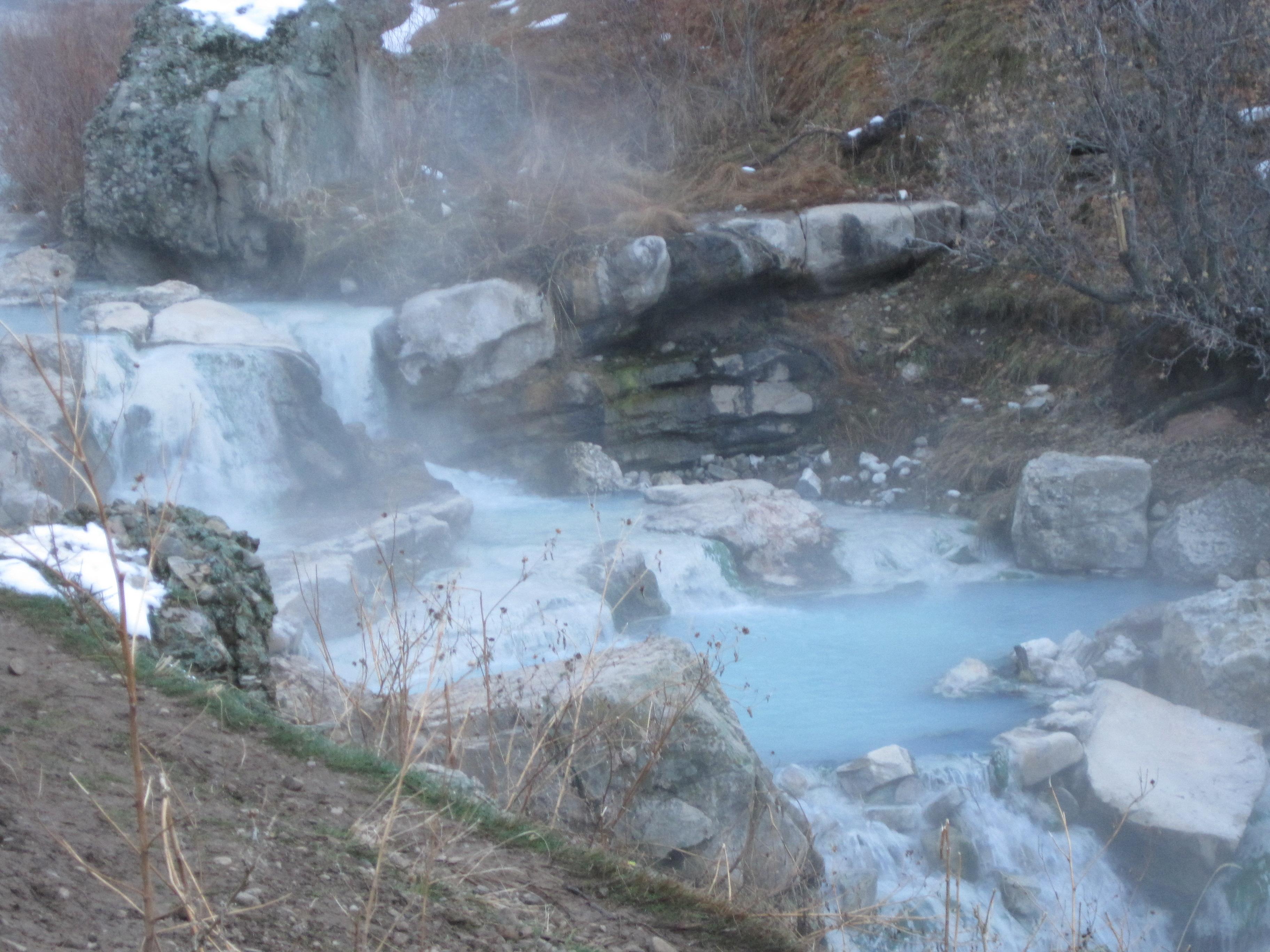 Diamond Fork Hot Springs  summit speak